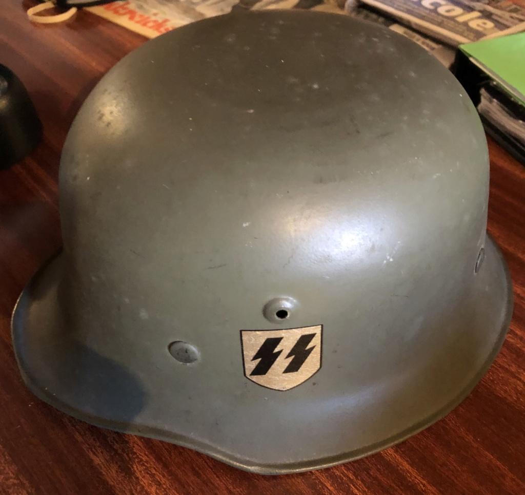 casquette nsdap et casque allemand ss Img_e811
