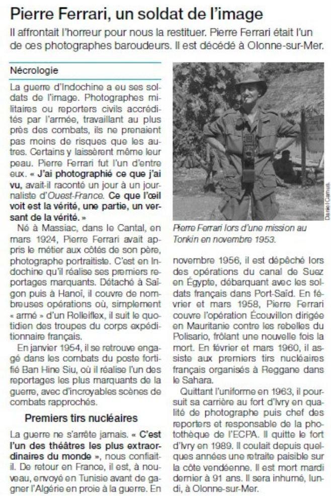 Pierre FERRARI, reporter de guerre. Les_ca10