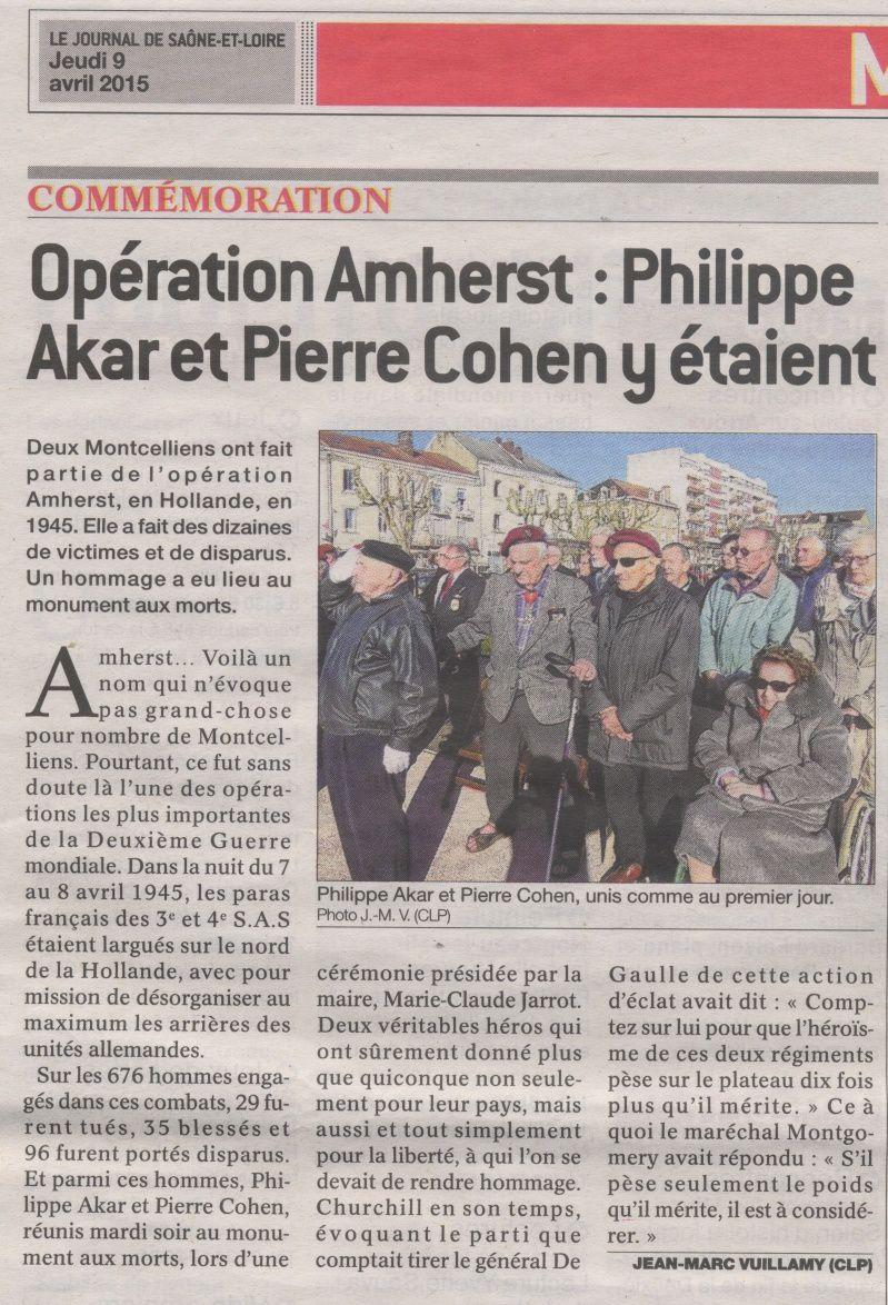 Opération Amherst Operat10