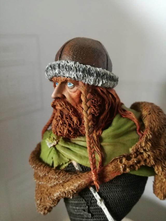 Buste Viking (1er peinture a l'huile) Img_2024