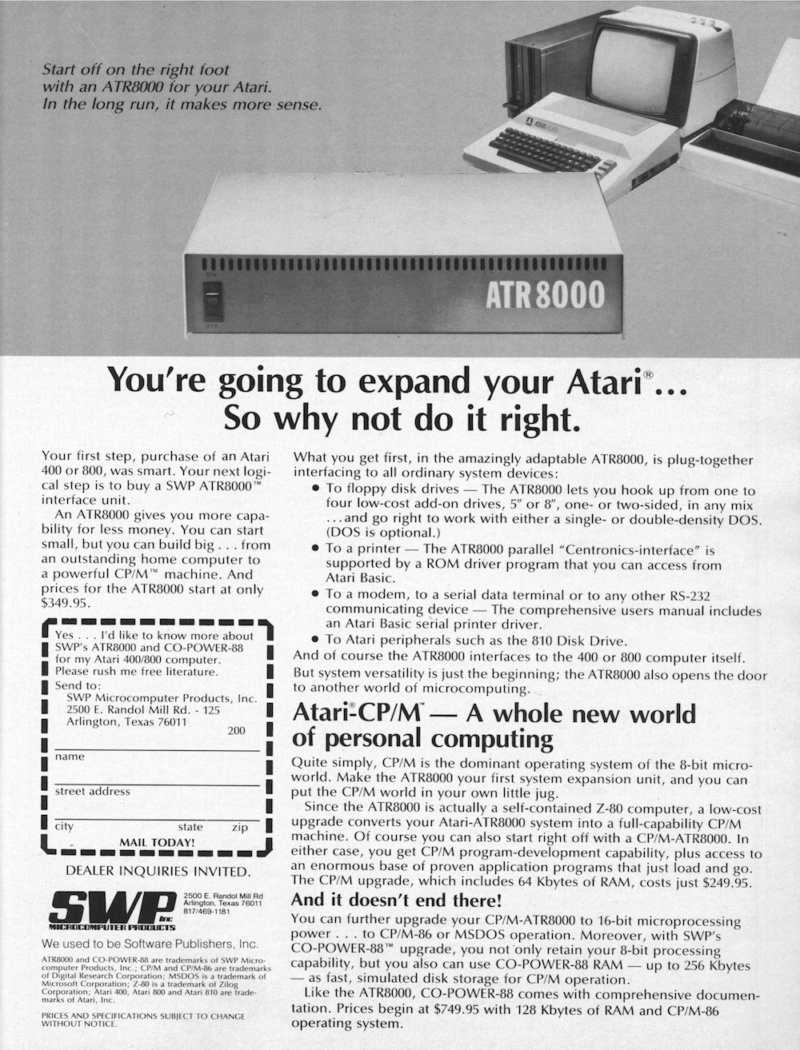 * ATARI 400/800/XL * TOPIC OFFICIEL - Page 7 Youre_10