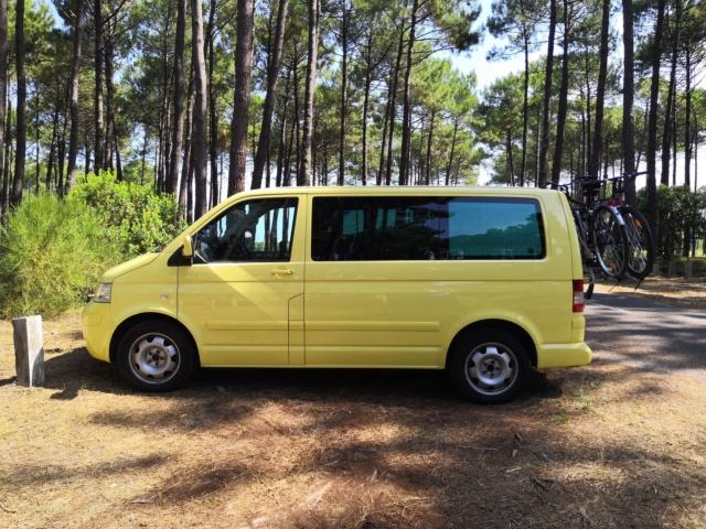Vends SUISSE T5 Multivan Family camper 2.5l TDI DSG 2008 167000km Img_2011