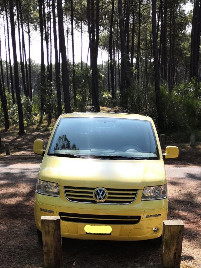 Vends SUISSE T5 Multivan Family camper 2.5l TDI DSG 2008 167000km Inkedi10