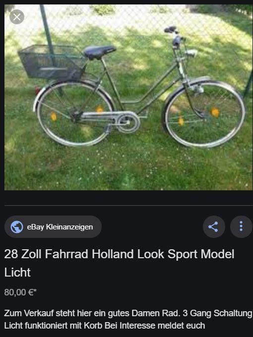 HOLLAND LOOK Sport Model quelqu'un connaît   Captur10