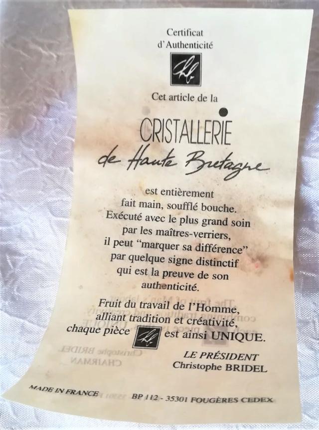Vase en cristal : Cristallerie de Haute Bretagne Screen12