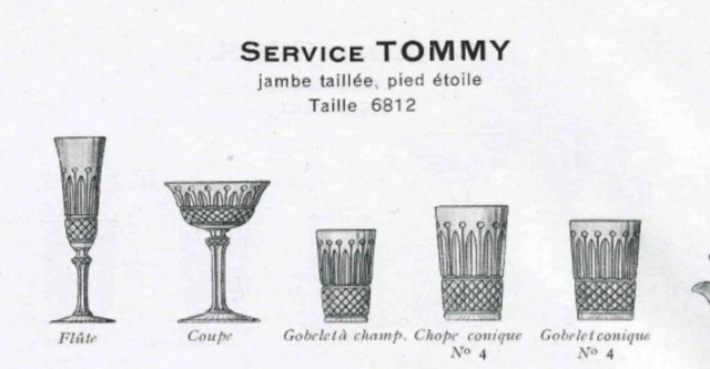 Gobelet marqué Saint Louis - modèle Tommy  - qualité douteuse Screen25