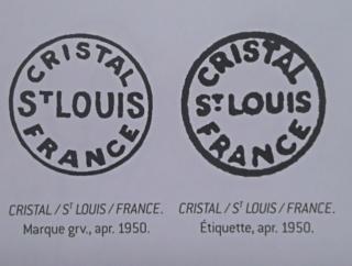 Gobelet marqué Saint Louis - modèle Tommy  - qualité douteuse Win_2012