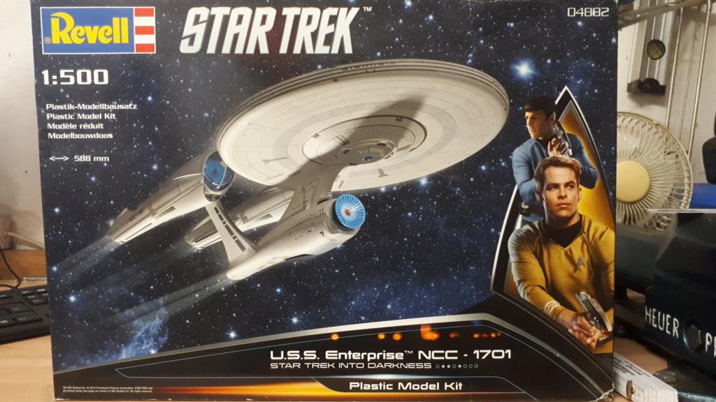 Enterprise NCC 1701 (Kelvin Zeitlinie) / Revell, 1:500 20200313