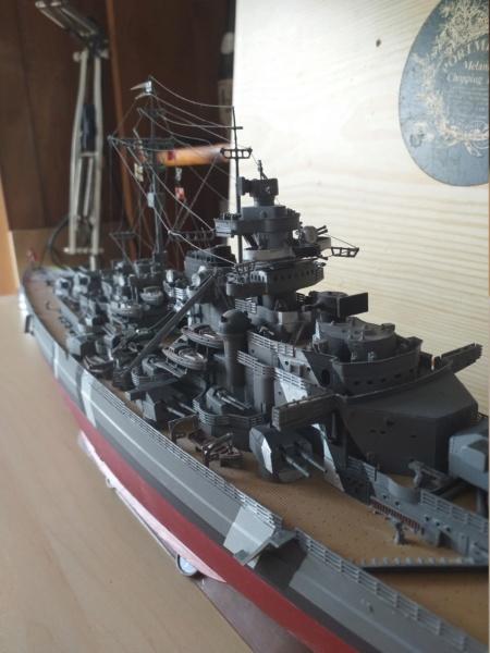 Bismarck 1/350 - Revell (encore un) par JoLaFrite  20200313