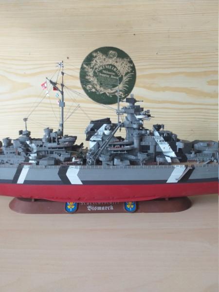Bismarck 1/350 - Revell (encore un) par JoLaFrite  20200314