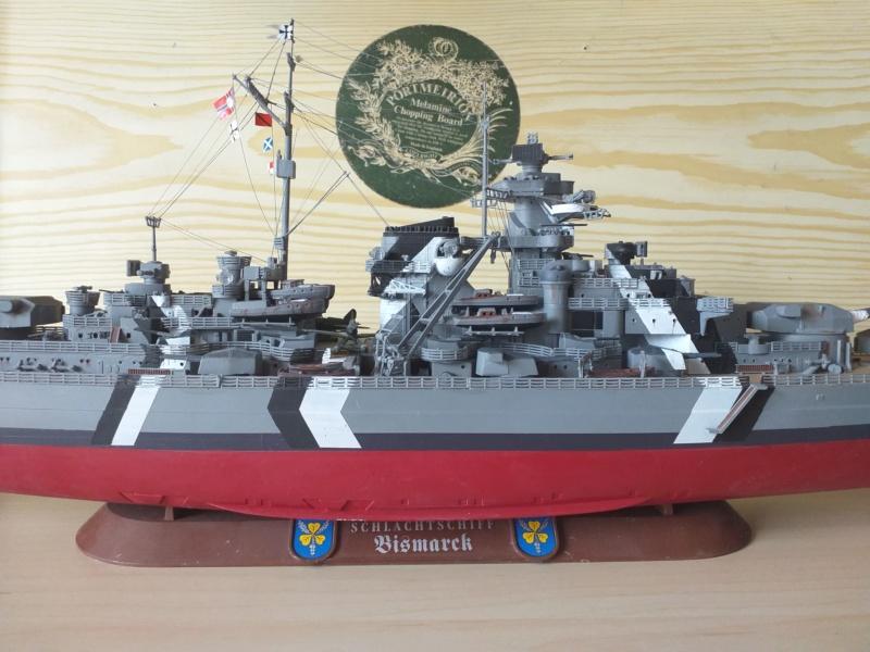 Bismarck 1/350 - Revell (encore un) par JoLaFrite  20200315