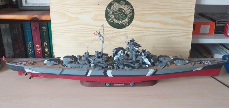 Bismarck 1/350 - Revell (encore un) par JoLaFrite  20200316