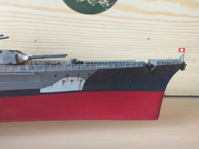 Bismarck 1/350 - Revell (encore un) par JoLaFrite  20200317