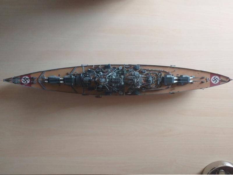 Bismarck 1/350 - Revell (encore un) par JoLaFrite  20200318