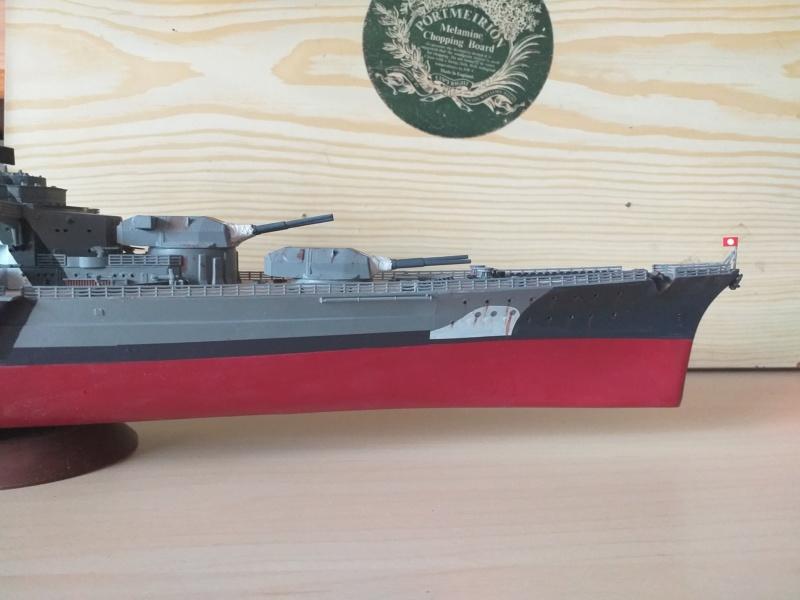 Bismarck 1/350 - Revell (encore un) par JoLaFrite  20200319