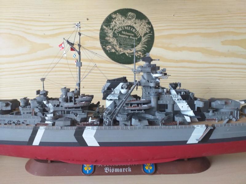 Bismarck 1/350 - Revell (encore un) par JoLaFrite  20200320