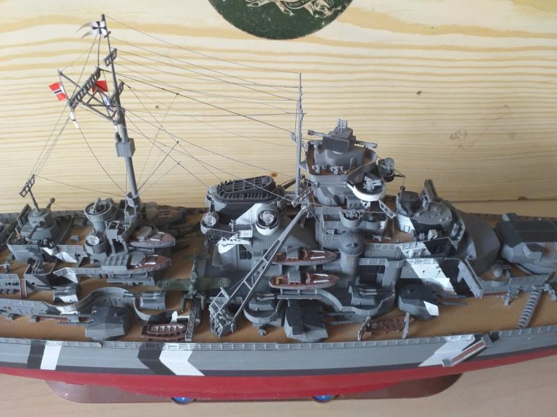 Bismarck 1/350 - Revell (encore un) par JoLaFrite  20200321