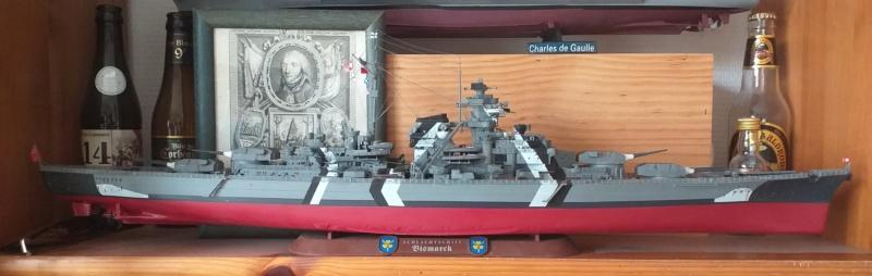 Bismarck 1/350 - Revell (encore un) par JoLaFrite  20200322