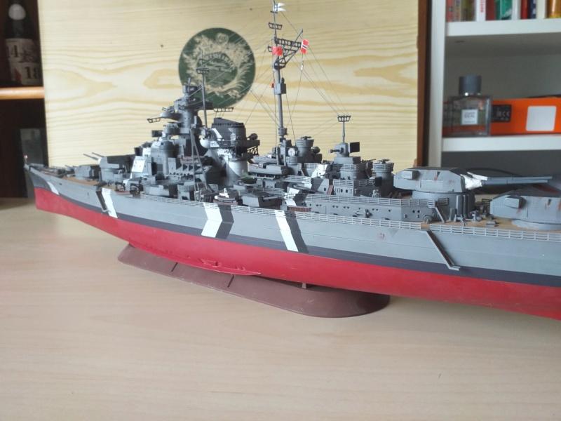 Bismarck 1/350 - Revell (encore un) par JoLaFrite  20200323
