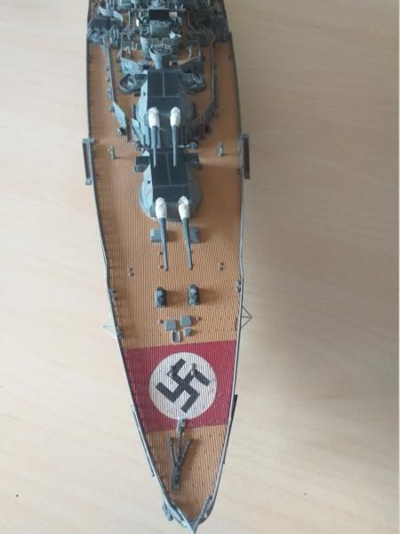 Bismarck 1/350 - Revell (encore un) par JoLaFrite  20200324
