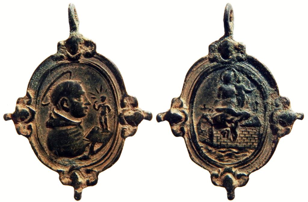 San Antonio de Padua / Virgen de Loreto - s. XVII (R.M. SXVII-O540) 2_95-310