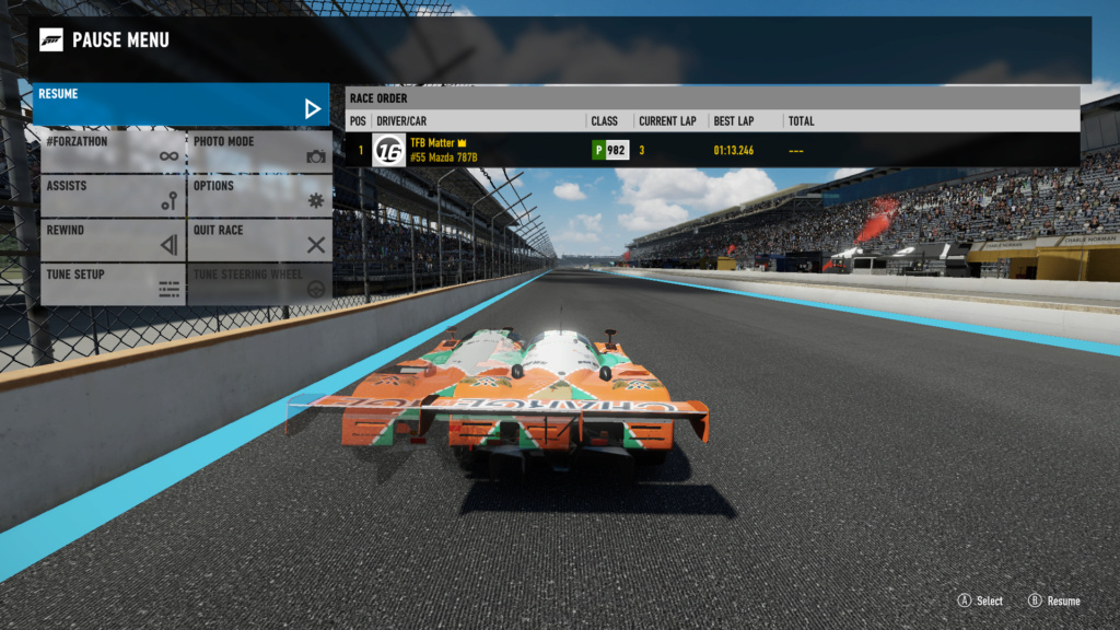 TORA 8 Hours of Indianapolis - GTP Class 107% Verification 2720eb12