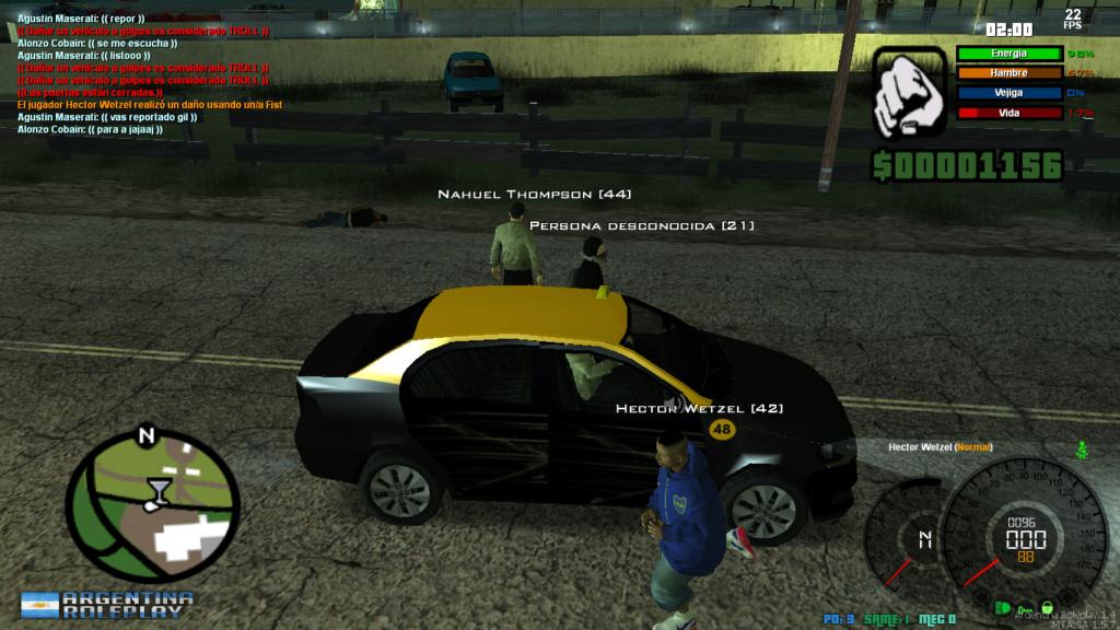 [Reporte] Hector Wetzel[reporte por:    IOOC, DM CAR  Mta-sc25