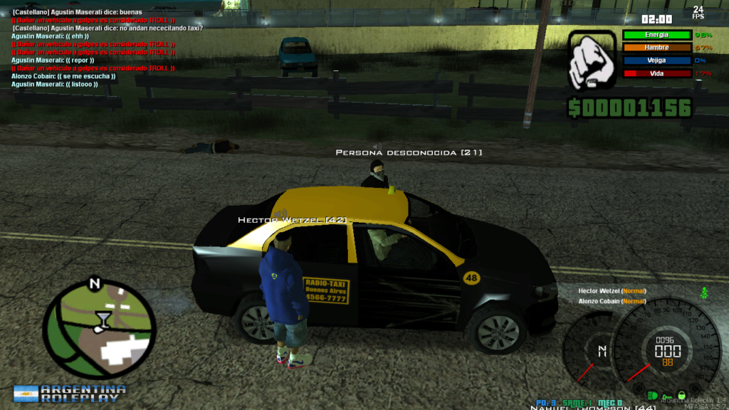 [Reporte] Hector Wetzel[reporte por:    IOOC, DM CAR  Mta-sc27
