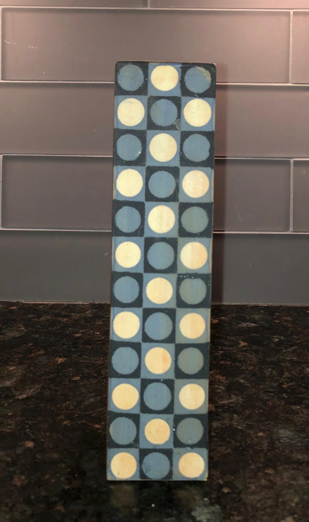 Geometric Motif Vase - Silkscreened? Img_3044