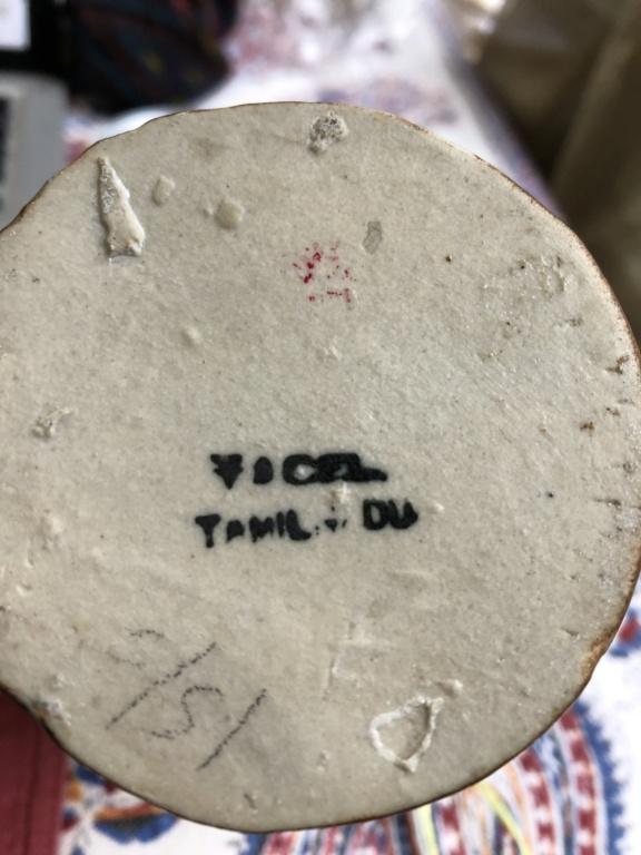 Can anyone ID my Tamil Nadu Pottery, please?  Img_3217