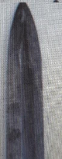 Baïonnette 1905 recoupée avec marquages M1  Baio_118