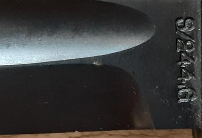 Gousset de baïonnette K98k S244G Baio_k16