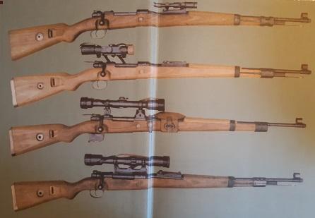 Curieux mauser de tireur d'élite Mauser14