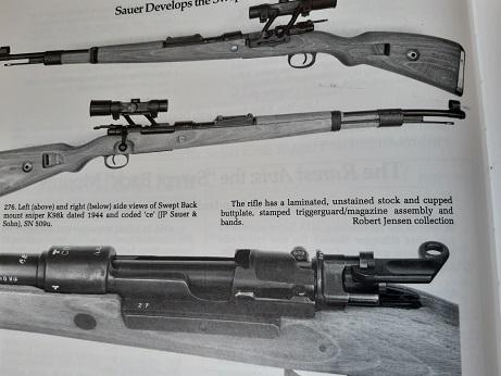 Curieux mauser de tireur d'élite Mauser15