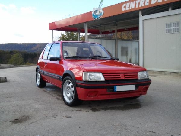 [julGTI] - 205 GTI 1L9- Rouge Vallelunga - 1989 111