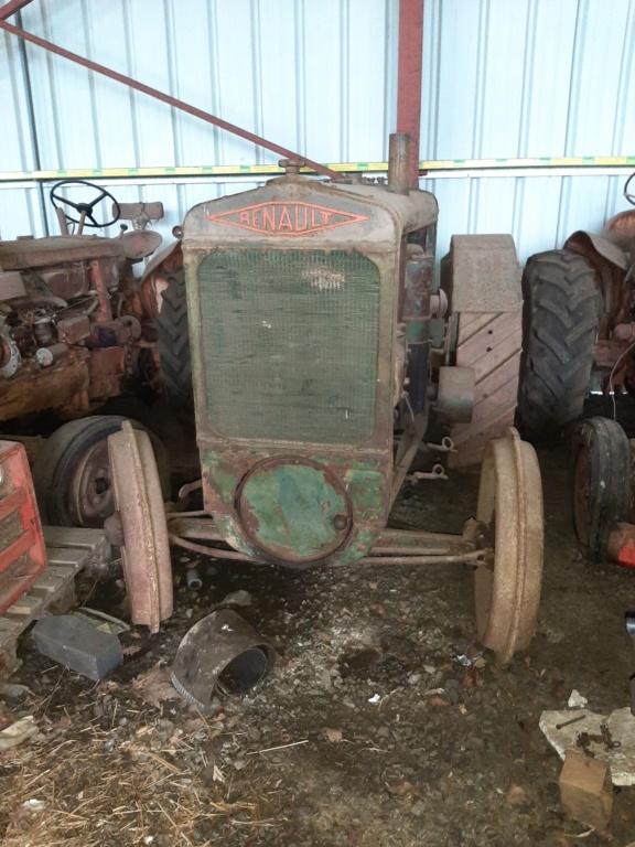 Tracteur Renault roues ferraille 20201213
