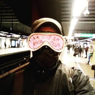 La vie en rose fluo de Jean-Claude Christian 2610