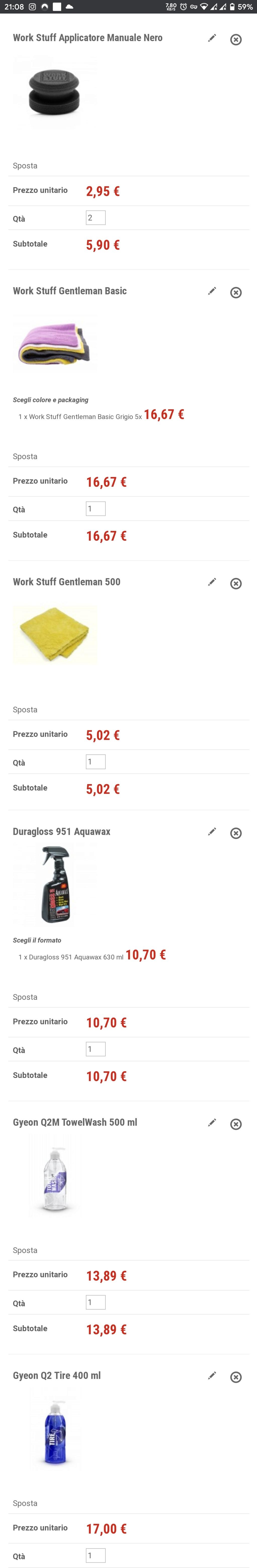 Acquisto prodotti per cerchi e mantenimento carrozzeria - Pagina 2 Screen16