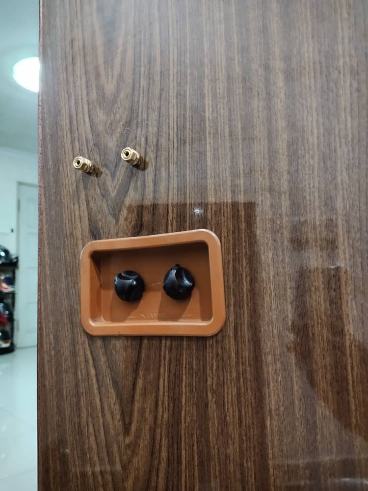 """(SOLD) Tannoy Monitor 15"""" gold and Sansui amplifier  Img-2015"""