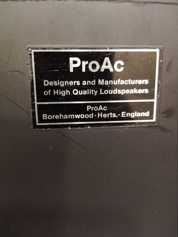 (sold) Proac studio 1 bookshelf speaker  Img_2012