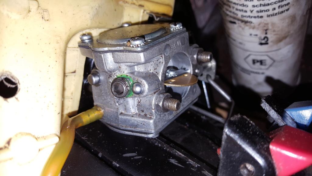 Problema carburazione Partner S50 20210411