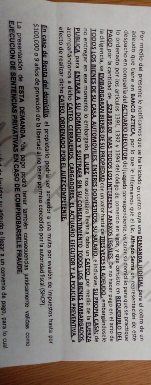 Notificacion extraJudicial embargo Img_2010