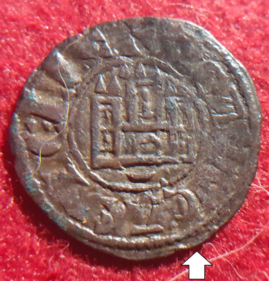 Dinero de Fernando IV. Emisión 1297. Cuenca 20210511