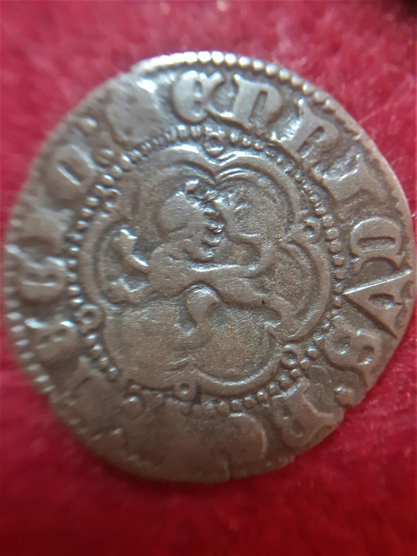 Blanca de Enrique III ceca Sevilla 20210530