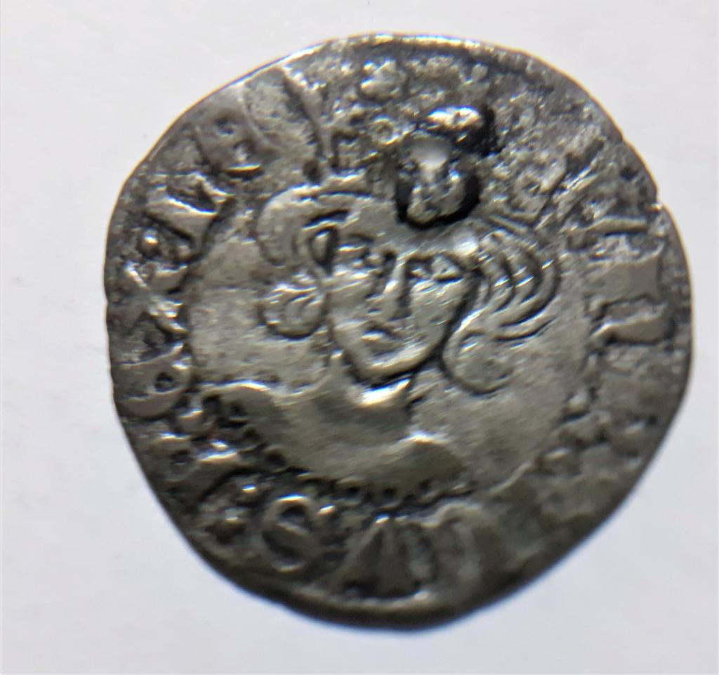 Dinero coronado o cornado de Enrique II. Zamora 20210614