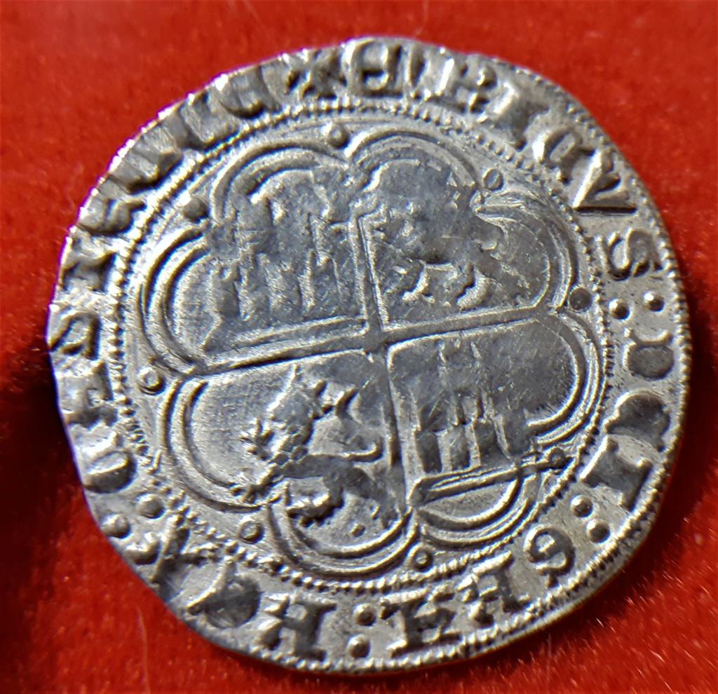 Real de Enrique IV Burgos. Emisión plata 1471. 20210721