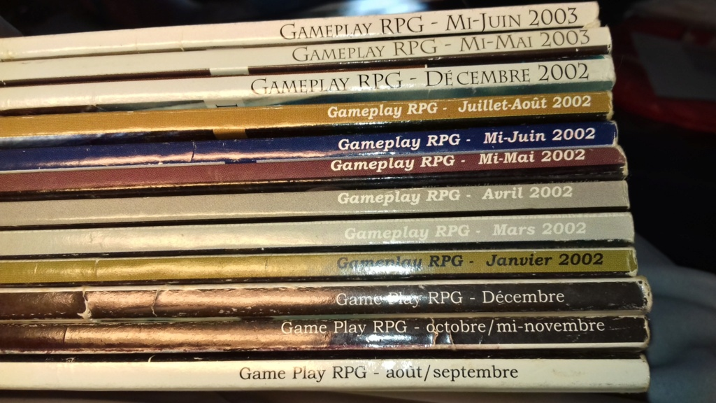 [RCH] Magazines Gameplay RPG 20210810