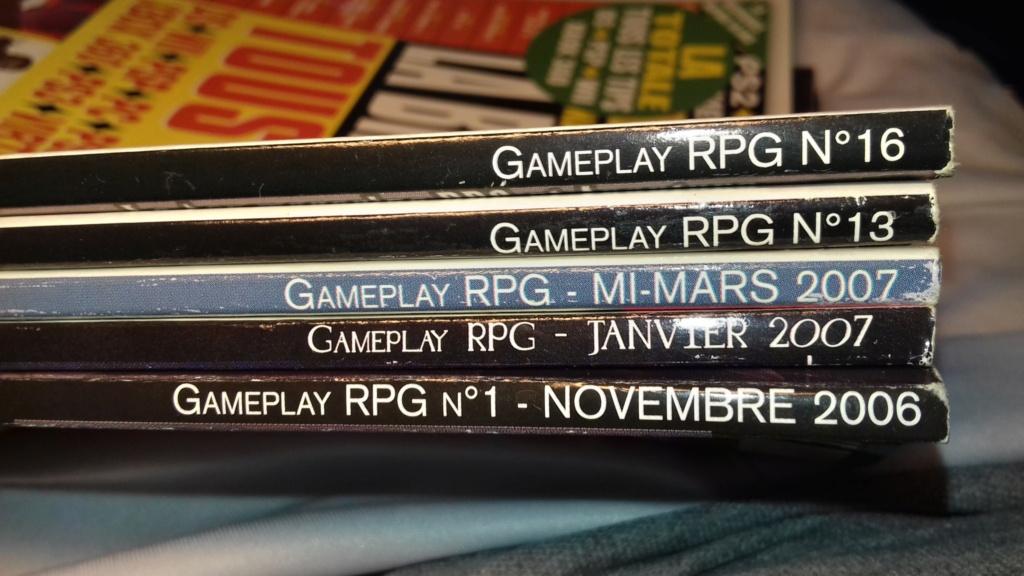 [RCH] Magazines Gameplay RPG 20210811