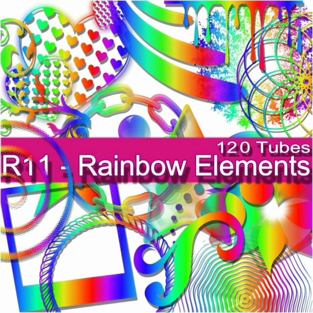 Rainbow Elements Tubes R11 020