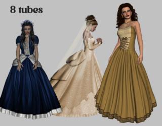 Tubos en 3D - Perfect Wedding 051